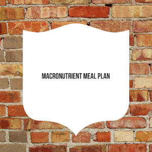 Macronutrient Meal Plan